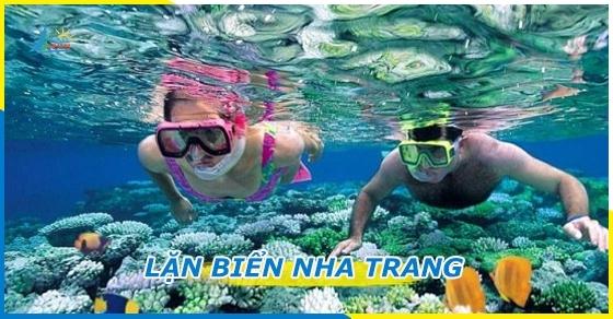 Tour lặn biển Nha Trang giá rẻ khởi hành hằng ngày - DanaTravel