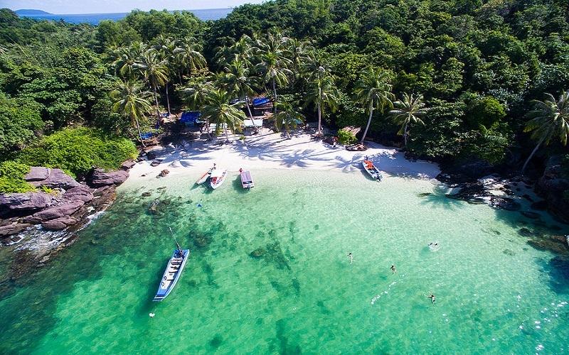 Tour 3 đảo cáp treo ngắm hoàng hôn Phú Quốc