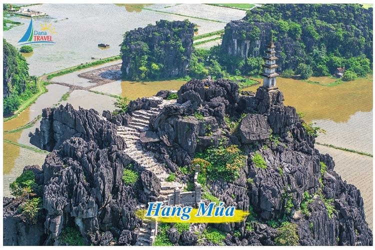 Tour Hà Nội Ninh Bình 1 ngày tham quan Hang Múa Tràng An Hoa Lư